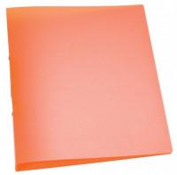 Ringbuch transparent orange