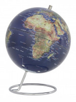 Globus Galaxy topografischer Landkarte