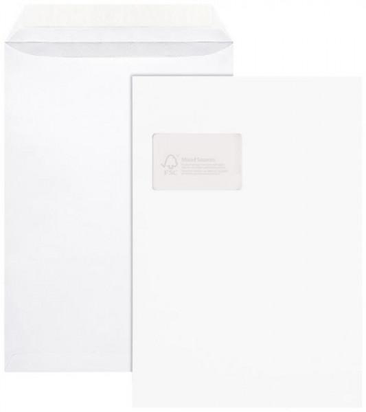 Versandtaschen C4 mit Fenster weiß