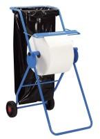 Fahrbarer Bodenständer für Papiertuchrollen