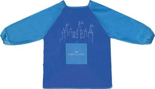 Faber-Castell Malschürze Jungen blau waschbar
