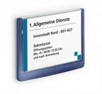 897256002-Tuerschild-CLICK-SIGN-Rahmen-dunkelblau-149-x-105-