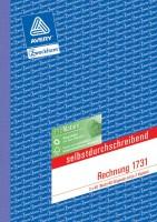 Zweckform Rechnungsbuch A5 3 x 40 Blatt