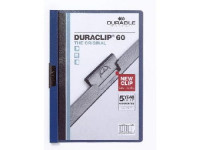 Klemmmappe Duraclip 60 dunkel blau