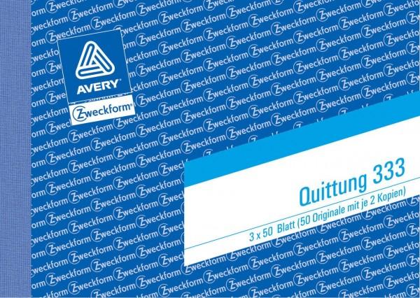 120437-Avery-Zweckform-333-Quittung-mit-ausgewiesener-MwSt-D