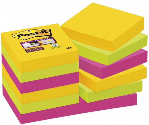 Post-it Super Sticky Hafnotizen