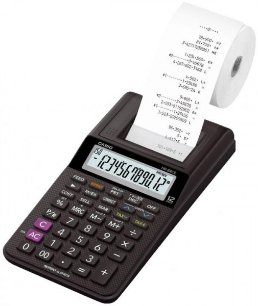 CASIO Tischrechner 12-stellig schwarz