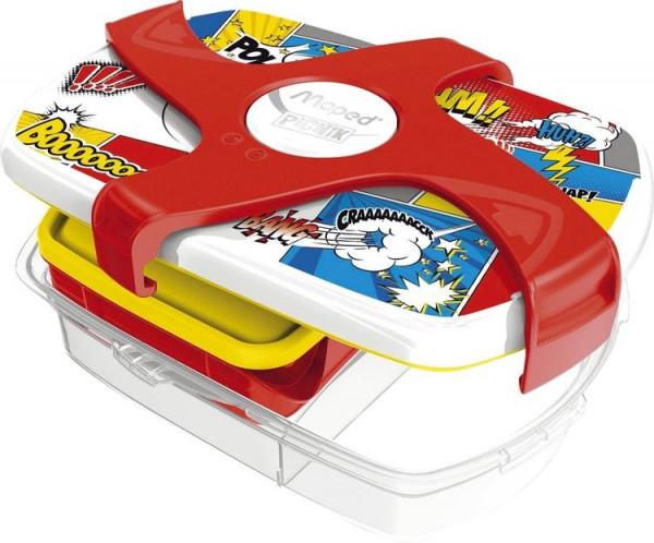 Maped Brotbox Kids Comics bunt