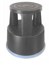 Q-Connect Rollhocker Kunststoff grau