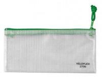 Veloflex Reißverschlusstasche A6 grün
