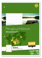 Format X Ringbuchblock A4 liniert