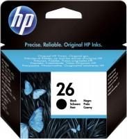 HP Inkjetpatrone Nr. 26 schwarz