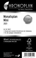 Chronoplan 50622 Mini Monatsplan 2022