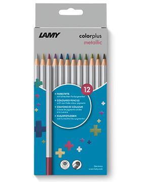 LAMY Buntstfte colorplus metallic dreieckig 12 Stück