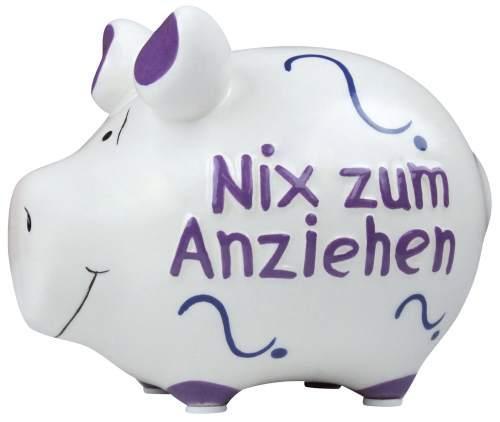 KCG Sparschwein Nix zum Anziehen