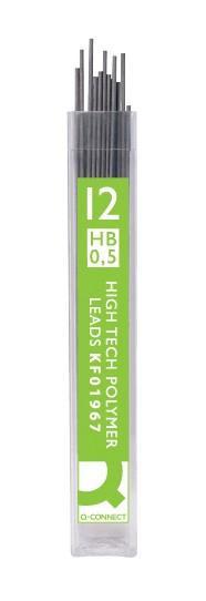 Q-CONNECT Feinminen 0.5 mm Härtegrad HB 12 Stück