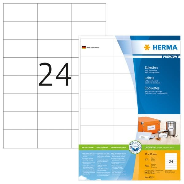 Herma 4615 selbstklebende Etiketten