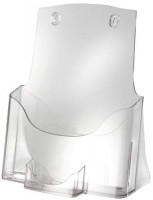 Prospekthalter A4 glasklar