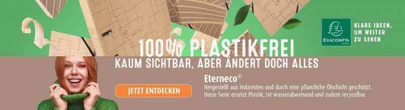 Exacompta Eterneco 100% Plastikfrei
