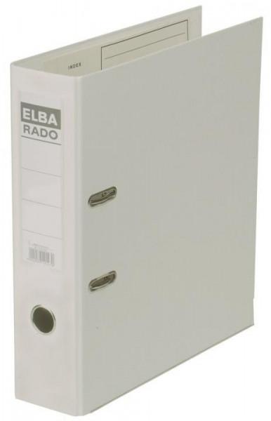 Elba Ordner rado Kunststoff A4 80mm weiß