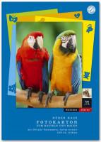 053636000-Fotokarton-Block-10-Blatt-A4-300-g-qm-farblich-sor