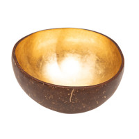 CHIC MIC Dekoschale Coconut Bowl gold