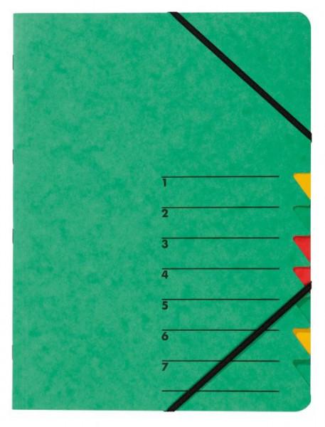 Pagna Ordnungsmappe grün mit Gummizug