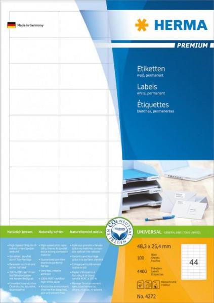 394272-Etiketten-Premium-weiss-48-3x25-4-mm-Papier-matt-4400