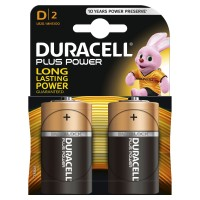 Duracell Batterien PLUS POWER Alkaline - Mono/LR20/D