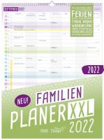 Familienplaner XXL 2022 7 Spalten