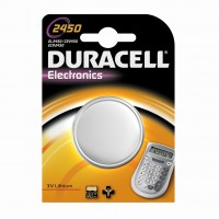 DURACELL Lithium Knopfzellen CR2450 3V