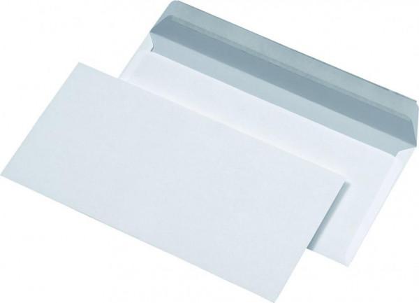 Briefumschläge DIN lang ohne Fenster weiss