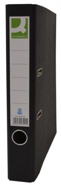 519463-Q-Connect-Wolkenmarmor-Ordner-A4-50-mm-schwarz