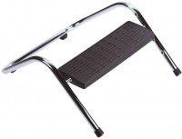 Q-Connect Fußstütze schwarz silber