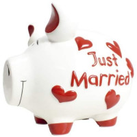 KCG Sparschwein Just Married 17cm