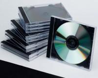 CD Leerhüllen schwarz 10 Stück