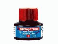 edding FTK 25 Nachfülltusche 25ml rot
