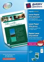 Avery Zweckform Laserpapier A4 glänzend