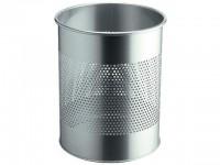 Durable Papierkorb metallic silber