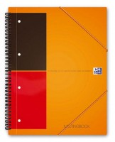 Oxford International Meetingbook A4 liniert 6mm