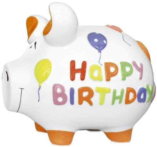 Sparschwein Happy Birthday