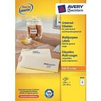 Avery Zweckform 3424 Universal Etiketten
