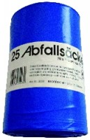 Abfallsack 120l blau 25 Stück