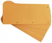 Trennstreifen orange aus Karton